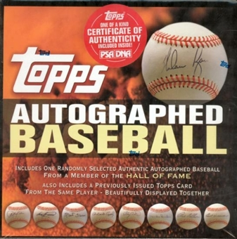 2006 Topps Autographed Hall of Fame Baseball Hobby Box