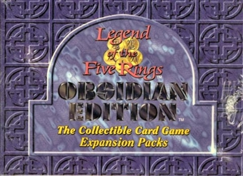 AEG Legend of the Five Rings Obsidian Booster Box