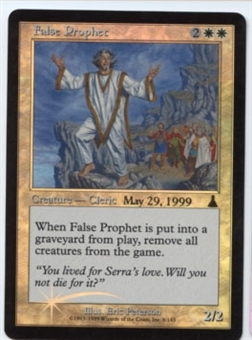 Magic the Gathering Urza's Destiny Single False Prophet Foil (Prerelease) - SLIGHT PLAY (SP)