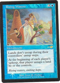 Magic the Gathering Nemesis Single Rising Waters FOIL