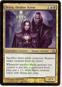 Magic the Gathering Guildpact Single Teysa, Orzhov Scion FOIL NEAR MINT (NM)