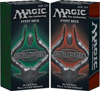 Magic the Gathering 2013 Event Decks - Set of Two