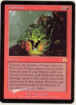 Magic the Gathering Onslaught Single Kaboom! Foil