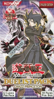 Upper Deck Yu-Gi-Oh GX Duelist Chazz Princeton Unlimited Booster Box
