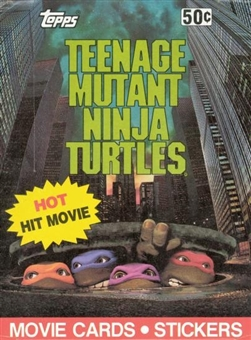 Teenage Mutant Ninja Turtles Movie Wax Box (1990 Topps)