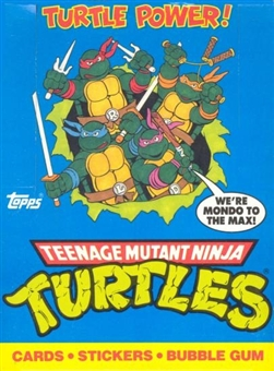 Teenage Mutant Ninja Turtles Wax Box (1989 Topps)