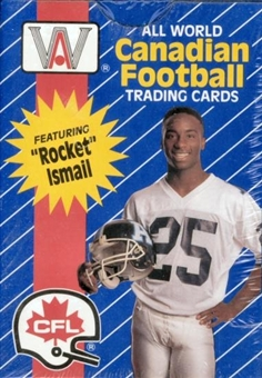 1991 All World CFL Football Box Set