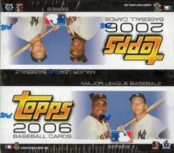 2006 Topps Series 1 Baseball 24 Pack Box