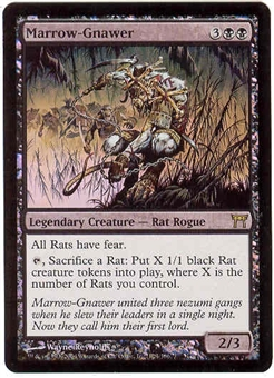Magic the Gathering Champs of Kamigawa Single Marrow-Gnawer FOIL