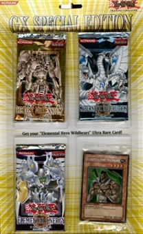 Upper Deck Yu-Gi-Oh GX Duelist Special Edition Blister Pack