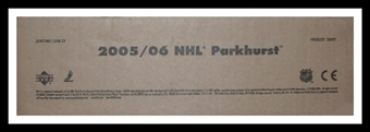 2005/06 Upper Deck Parkhurst Hockey Hobby 12-Box Case