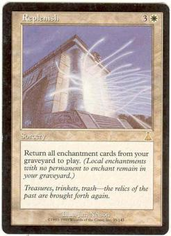 Magic the Gathering Urza's Destiny Single Replenish - SLIGHT PLAY (SP)