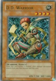 Yu-Gi-Oh Tournament Pack 7 Single D.D. Warrior Single TP7-EN001