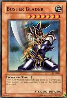 Yu-Gi-Oh Duelist League Single Buster Blader Super Rare