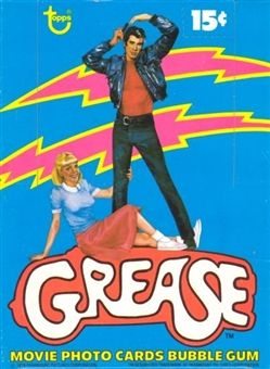 Grease Series 1 Wax Box (1978 Topps)