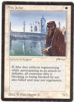 Magic the Gathering Arabian Nights Single Abu Ja'far - MODERATE PLAY (MP)