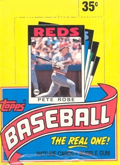1986 Topps Baseball Wax Box (Factory sealed!)