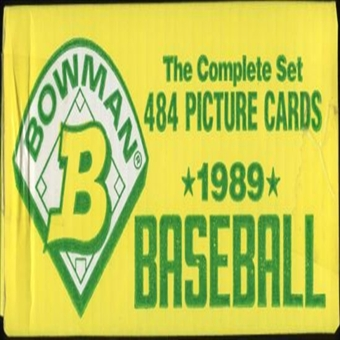 1989 Bowman Baseball Factory Set (yellow box)
