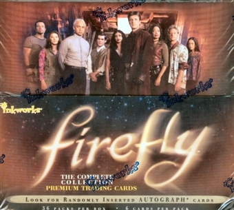 Firefly Trading Cards Box (2006 Inkworks)