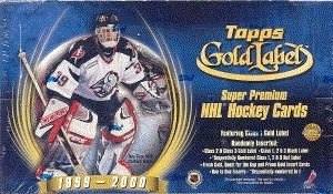 1999/00 Topps Gold Label Hockey Hobby Box