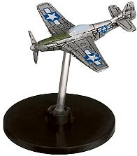 Axis & Allies 1939-45 Miniature P-51D Mustang Figure (No Stat Card)