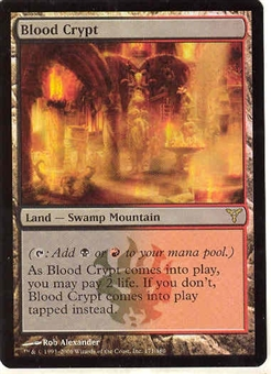 Magic the Gathering Dissension Single Blood Crypt Foil