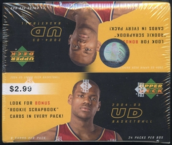 2004/05 Upper Deck Basketball Prepriced Box