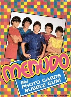 Menudo Wax Box (1983 Topps)