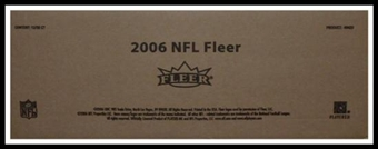 2006 Fleer Football Hobby 12-Box Case (Upper Deck)