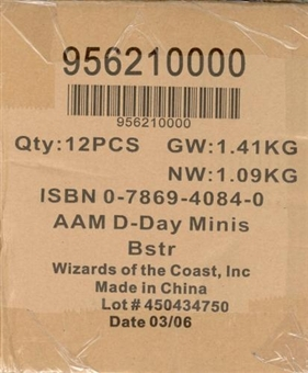 "Axis & Allies Miniatures ""D-Day"" Booster Case (12 ct.)"