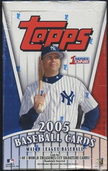 2005 Topps Series 1 Baseball 36 Pack Box