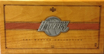 2000 Upper Deck Basketball Lakers Master Collection Set Deal