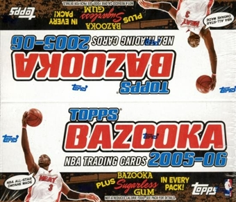 2005/06 Topps Bazooka Basketball 24 Pack Box