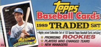 1989 Topps Traded & Rookies Baseball Retail Set
