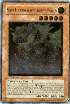 Yu-Gi-Oh Enemy of Justice Single Super-Electromagnetic Voltech Dragon Super Rare