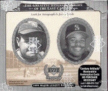 1999 Upper Deck Century Legends Baseball Hobby Box