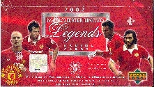 2002 Upper Deck Manchester United Legends Soccer Hobby Box