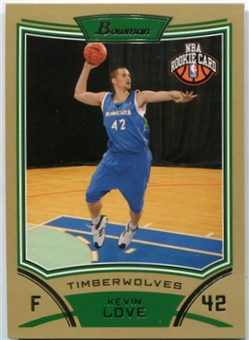2008/09 Bowman Gold #115 Kevin Love 1/50 RC Rookie Card
