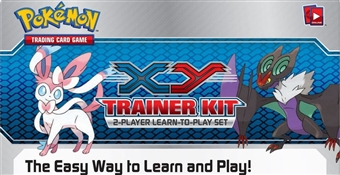 Pokemon XY Trainer Kit 8-Deck Box (Presell)