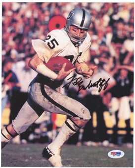 Fred Biletnikoff Autographed Oakland Raiders 8x10 Photo (PSA COA)