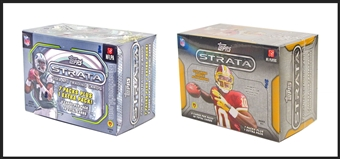 COMBO DEAL - 2013 & 2012 Topps Strata Football 8-Pack Blaster Box