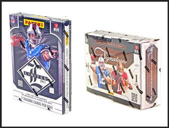 COMBO DEAL - Panini Football Hobby Boxes (2013 Limited, 2012 Prime Signatures)