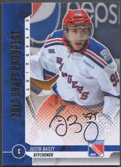 2012/13 ITG Draft Prospects #AJB2 Justin Bailey Rookie Auto