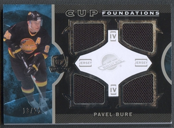 2012/13 The Cup #CFBU Pavel Bure Cup Foundations Jersey #13/25