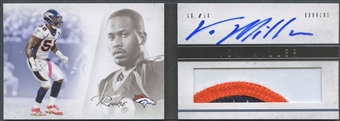 2011 Panini Playbook #136 Von Miller Rookie Patch Auto #091/349