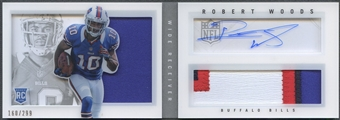 2013 Panini Playbook #231 Robert Woods Signatures Silver Rookie Patch Auto #160/299