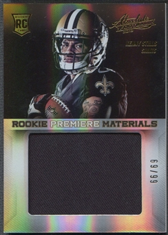 2013 Absolute #218 Kenny Stills Rookie Premiere Materials Oversize Jersey #69/99