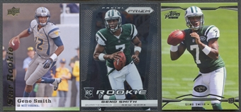 2013 Geno Smith Rookie 3 Card Lot