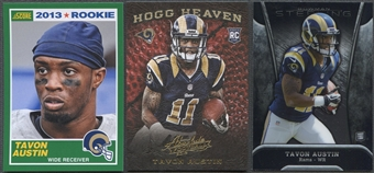 2013 Tavon Austin Rookie 3 Card Lot