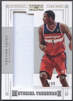 2012/13 Panini National Treasures #73 Trevor Ariza Material Treasures Jersey #76/99